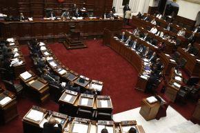 Pleno del Congreso. Foto: ANDINA/Melina Mejía.