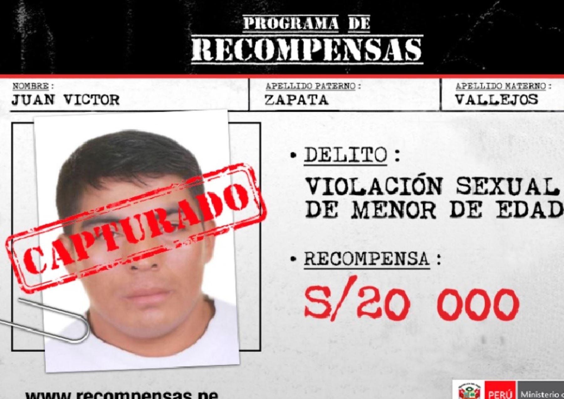 Pnp captur en piura dos requisitoriados por violaci n for Portal del ministerio del interior