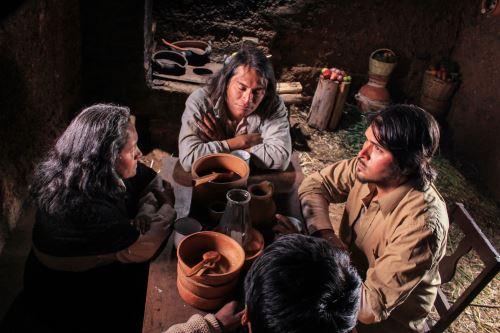 Escena de la película Pueblo Viejo.