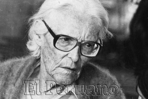 María Reiche. ANDINA/archivo