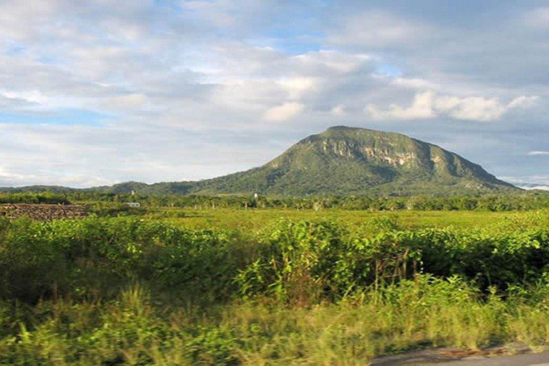 Plan Copesco Nacional invertirá S/ 8.16 millones para poner en valor Morro de Calzada, ubicado en la región San Martín. ANDINA