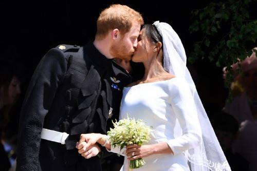 Príncipe Harry de Inglaterra y Meghan Markle se casaron