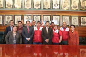Trabajadores del Sector Salud y representantes del Minsa acordaron levantar la huelga. Foto: Andina/Difusión