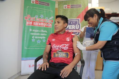 Selección peruana se une a campaña #PerúCampeónSinSarampión.