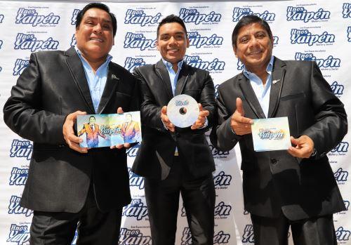 Presentaron su disco con el que esperan ser preseleccionados para el Grammy Latino.