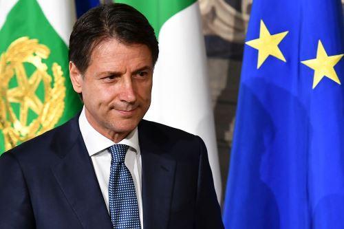 Giuseppe Conte Foto: AFP