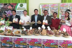 Junín impulsa el cultivo de ocho variedades de papa nativa orgánica con fines de exportación. ANDINA/Pedro Tinoco