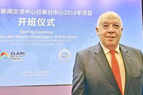 Embajador peruano en China, Luis Quesada.
