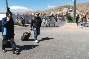 Policía activa corredor turístico para garantizar seguridad de turistas que visitan Cusco. ANDINA/Percy Hurtado