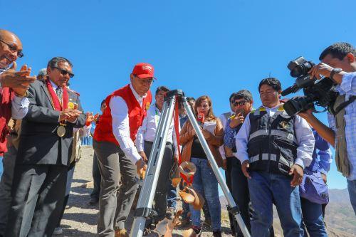 Presidente Martín Vizcarra anuncia proyecto para mejorar sitio arqueológico Cerro Baúl