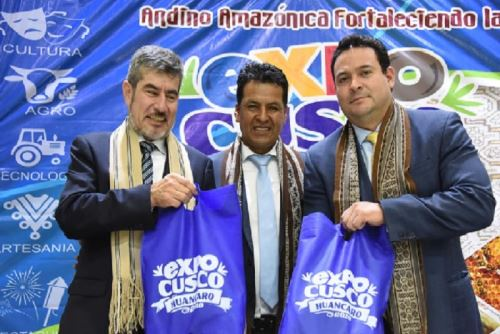 Expo Cusco Huancaro, considerada como una de las principales actividades por su impacto en la economía regional, fue lanzada en Lima, por el ministro de Comercio Exterior y Turismo, Roger Valencia, y el gobernador regional Edwin Licona.