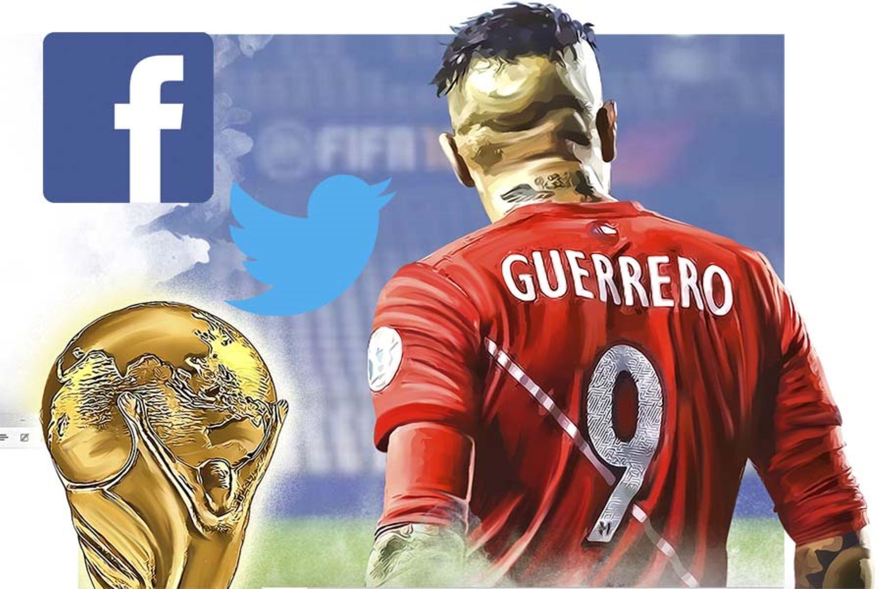 Paolo Guerrero fue el tema más comentado en Facebook, Instagram y Twitter en el Perú entre marzo y la quincena de mayo del 2018, según un informe de comScore.