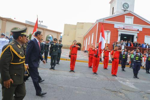 Presidente Martín Vizcarra participó en actividades por el 48° aniversario de Ilo