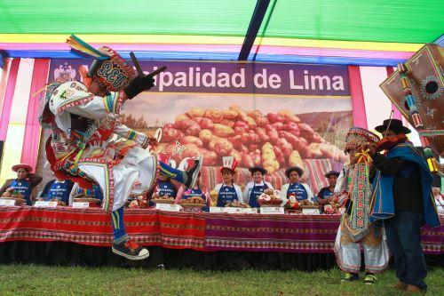 Comerciantes del Gran Mercado Mayorista celebran el Día Nacional de la Papa