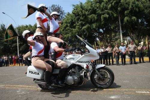 Feria temática de la PNP, para erradicar la violencia