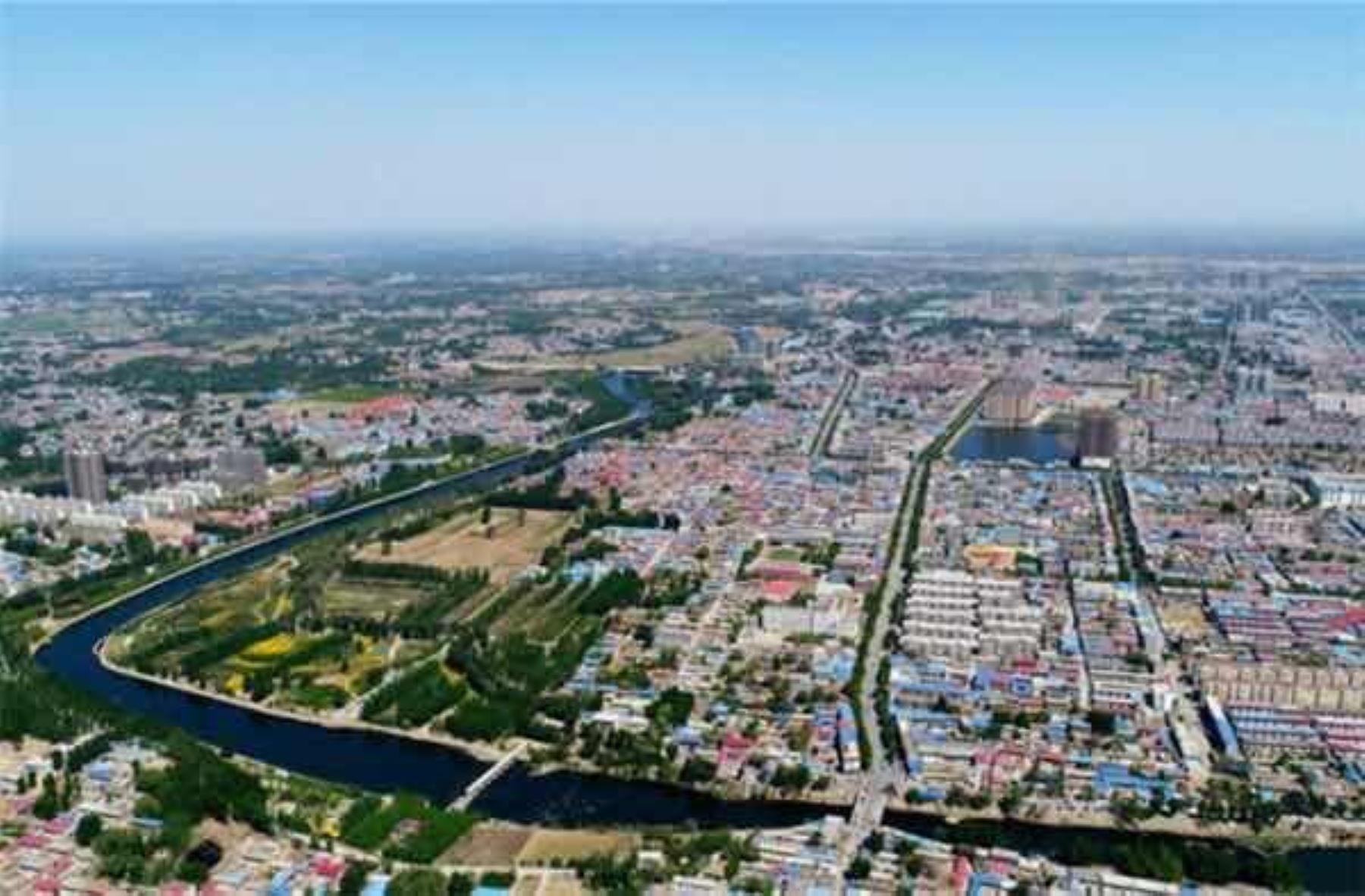 Xiongan, la nueva ciudad china Foto: Agencia Xinhua
