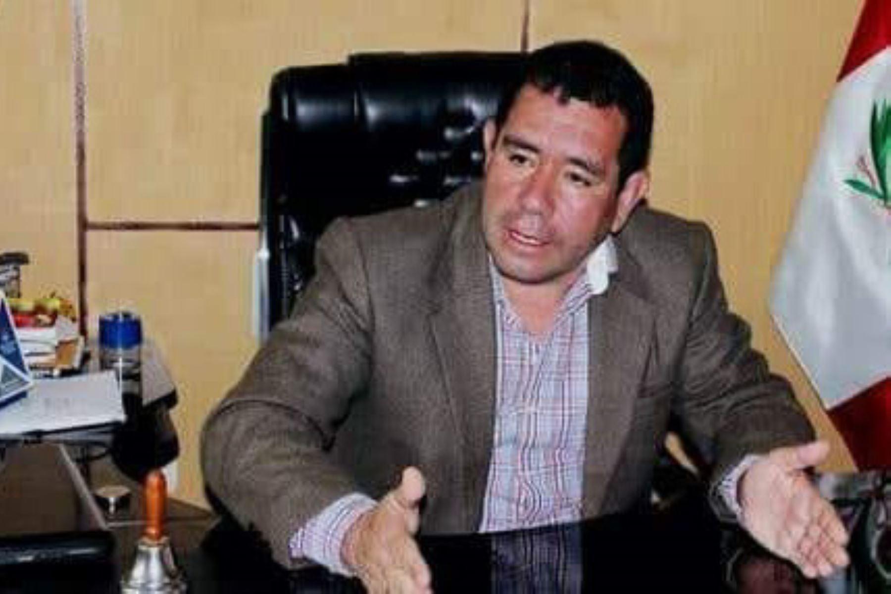 Policía investiga presunto secuestro de alcalde de Pataz, Roberto Bogarín.
