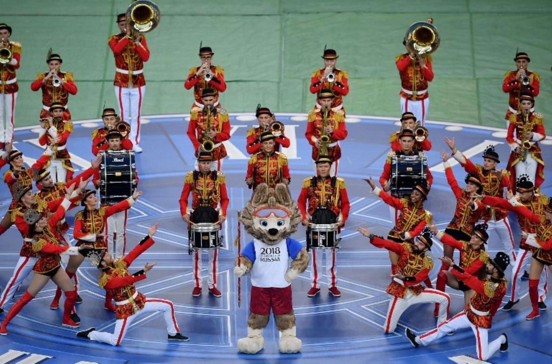 Todos el planeta estará expectante para ver el inicio del Mundial de Rusia 2018. La mascota Zabivaka será la anfitriona de la ceremonia inaugural