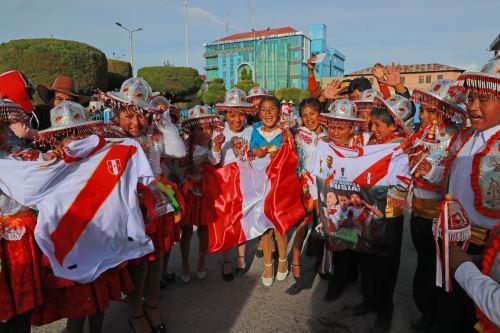 Pobladores de Ilave en Puno esperan el debut de Perú en el Mundial de Rusia