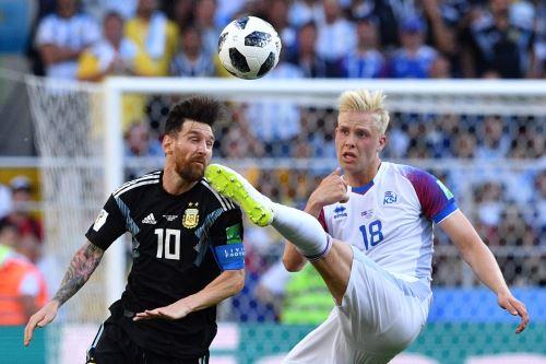 La selección argentina debuta con Islandia en el Mundial Rusia 2018
