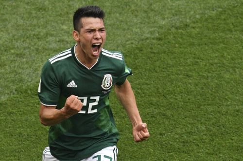 México ganó 1-0 a Alemania en Moscú