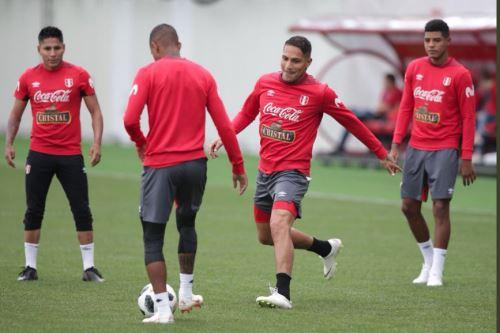 Selección peruana: así trabajó Perú con miras al partido con Francia