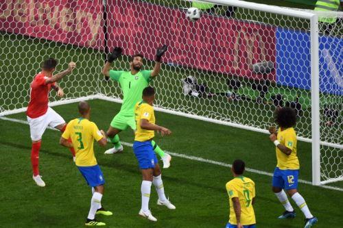 Brasil empató 1-1 con Suiza por el Grupo E