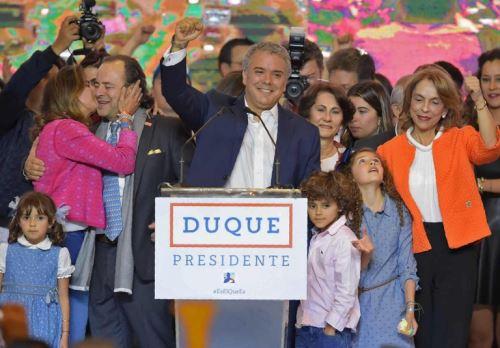 Colombia: El candidato Iván Duque es elegido presidente