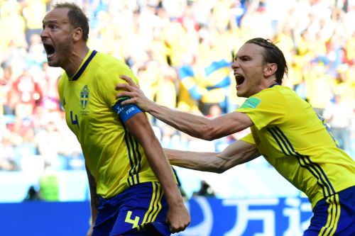 Partido del Grupo F entre Suecia y Corea del Sur