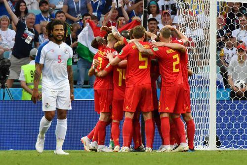 Bélgica y Panamá  del Grupo G, se enfrentan en el estadio de Sochi.