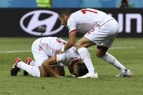 Partido Grupo G entre Túnez e Inglaterra