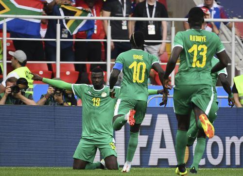 Senegal venció 2-1 a Polonia en emocionante partido por el Grupo H