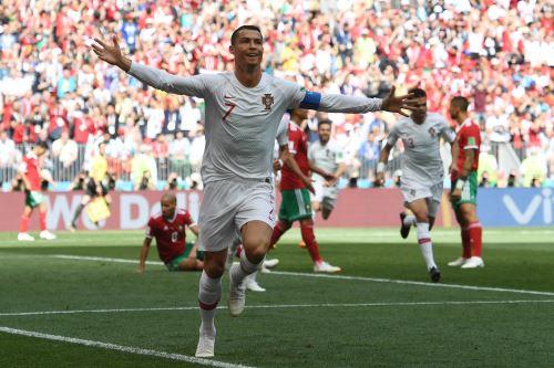 Portugal le gana 1-0 a Marruecos