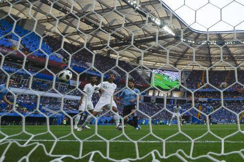 La selección de Uruguay gana 1-0 su similar de Arabia Saudita