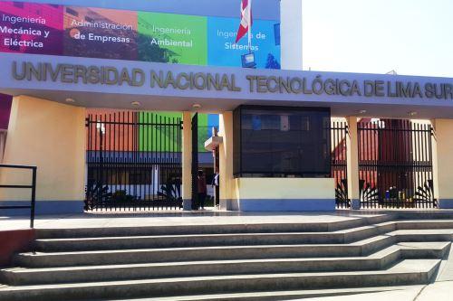 Sunedu otorga licenciamiento a Universidad Nacional Tecnológica de Lima Sur. Foto: ANDINA/Difusión.