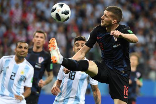 Argentina cae 1-0 ante Croacia
