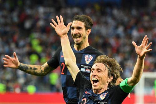 Argentina cae 3-0 ante Croacia
