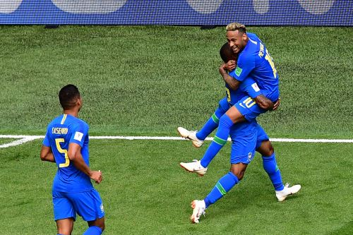 Brasil venció 2-0 a Costa Rica con gol de Neymar en tiempo de descuento