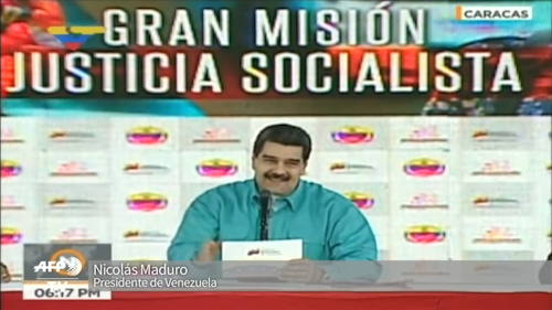 Maduro pide a España que no devuelvan a Ledezma