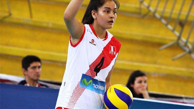 Falleció joven voleibolista peruana Alessandra Chocano