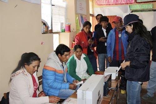 JNE y ONPE  supervisan elecciones en el nuevo distrito La Yarada Los Palos en Tacna