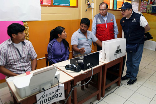 ONPE: elecciones 2018 permitirán evaluar eficiencia de reformas electorales
