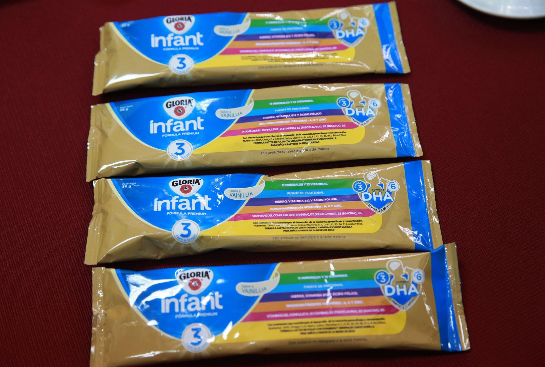 Digesa emitió alerta sanitaria e inmovilizó sachets con leche contaminada