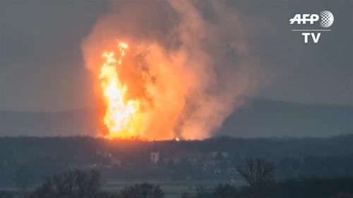 Un muerto y 18 heridos en explosión de terminal de gas en Austria