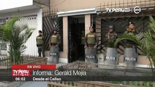 Megaoperativo: desarticulan peligrosa organización criminal Los Maras del Callao