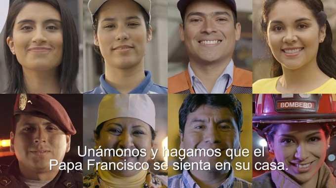 Papa Francisco: así lo espera el Perú