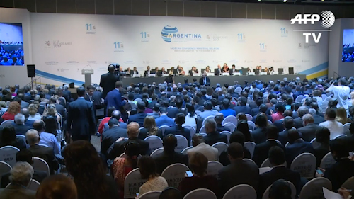 Argentina: cumbre de la OMC termina sin buenos acuerdos