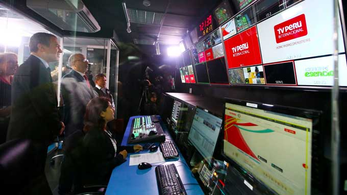 TV Perú lanza su señal internacional para 4 millones de peruanos en el extranjero