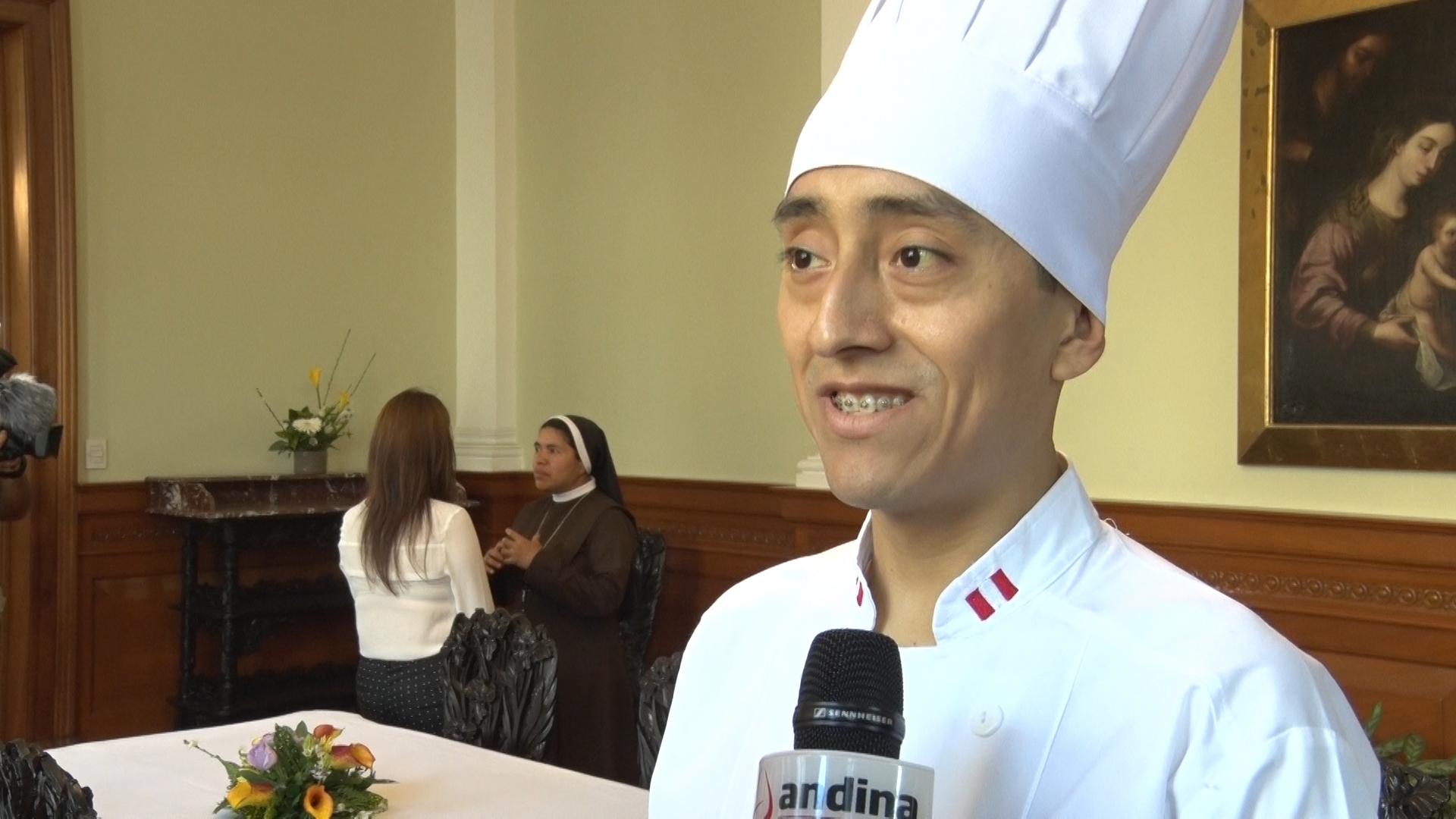 Chef peruano ofrecerá cebiche, lomo saltado y pisco sour al Papa Francisco