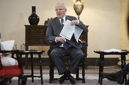 Kuczynski: Me siento totalmente capacitado para seguir gobernando